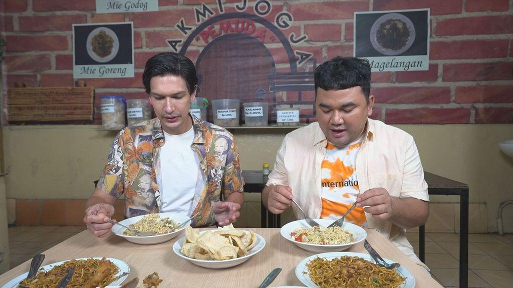 Bikin Laper! Hadiah Rp500 Ribu Menanti Kamu yang Nonton Dimas Beck Makan Bakmie Jogja