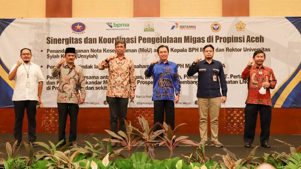 Gaet Universitas Syiah Kuala, BPH Migas Kembangkan Hilir Migas di Aceh