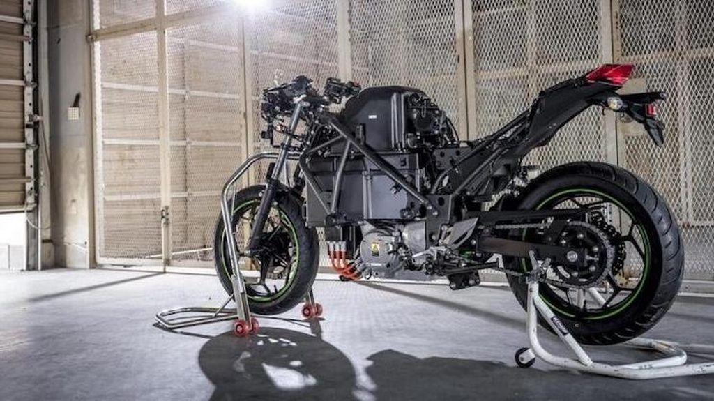 Motor Listrik Kawasaki Endeavor Makin Dekat Diproduksi