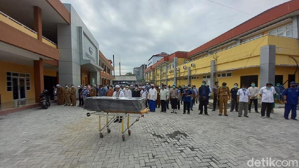 Dokter Senior Ahli Forensik RSUD Ulin Banjarmasin Meninggal COVID