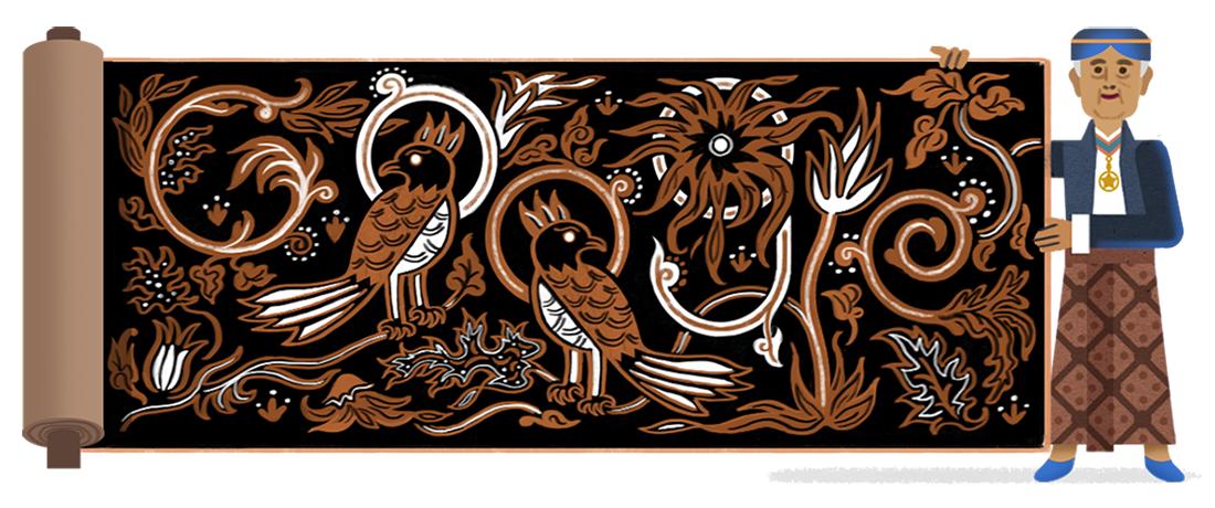 Google Doodle K.R.T. Hardjonagoro atau Go Tik Swan