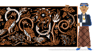 Sosok KRT Hardjonagoro, Pelopor Batik yang Jadi Google Doodle Hari Ini