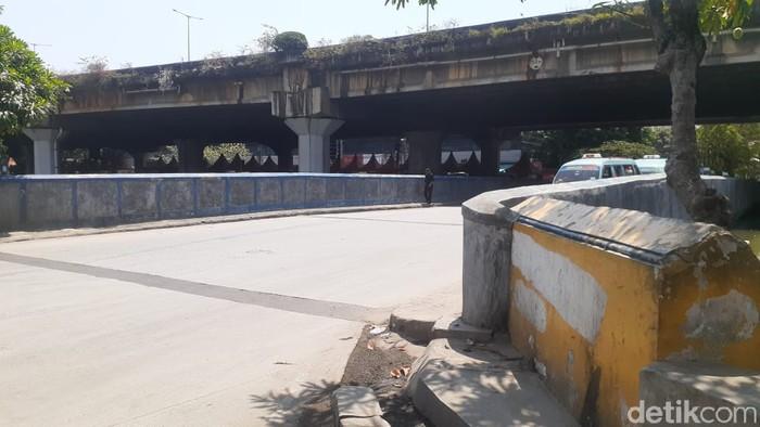 Jl RE Martadinata-Jembatan Lodan, Ancol, Jakarta Utara, 11 Mei 2021. (Afzal Nur Iman/detikcom)
