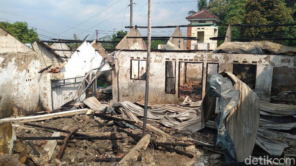 Gudang di Purbalingga Terbakar, 200 Kasur Busa Ludes