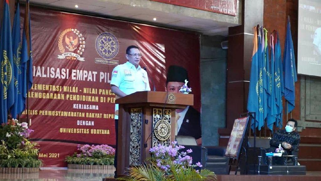 Bamsoet Apresiasi Universitas Udayana Dukung MPR Berwenang Susun PPHN