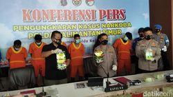 Polisi Tangkap Kurir 25 Kg Sabu Malaysia-Sulsel di Balikpapan Kaltim