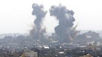 Pilu Warga Palestina Diserang Israel Jelang Hari Raya