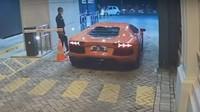 Duh! Lamborghini yang Digeber di Komplek Ternyata Nunggak Pajak