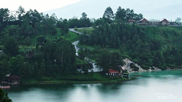 Danau Linow Tomohon yang begitu indah