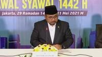 Hilal Tak Terlihat, Pemerintah Tetapkan Lebaran 1442 H Kamis 13 Mei