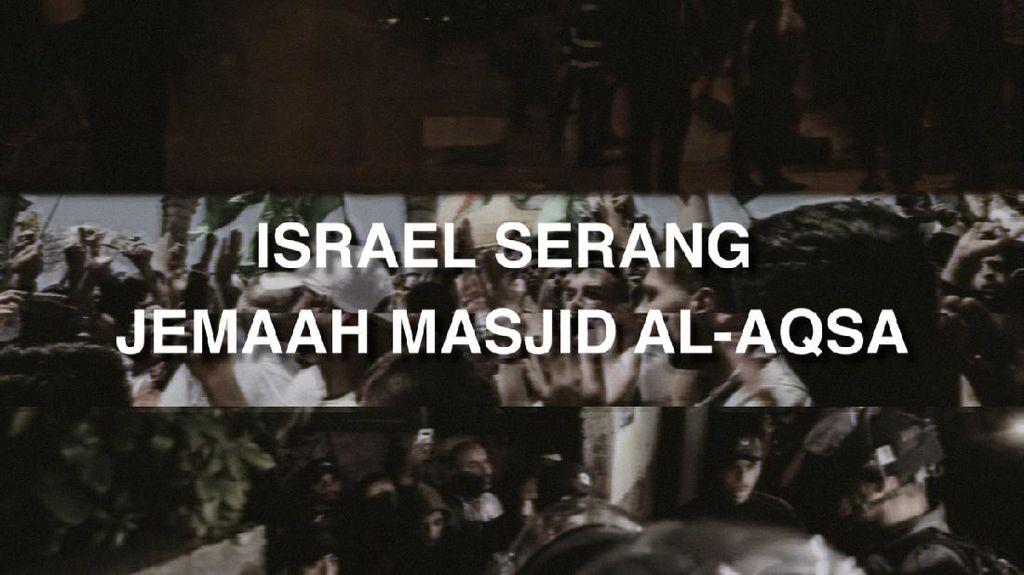 Palestina Diserang di Penghujung Ramadhan