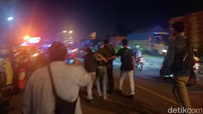 Pemuda diamankan polisi di Karawang gegara provokasi pemudik