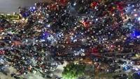 Ratusan Pemudik Motor Lolos di Penyekatan Bekasi, Polisi: Diputar Balik di Pos Selanjutnya