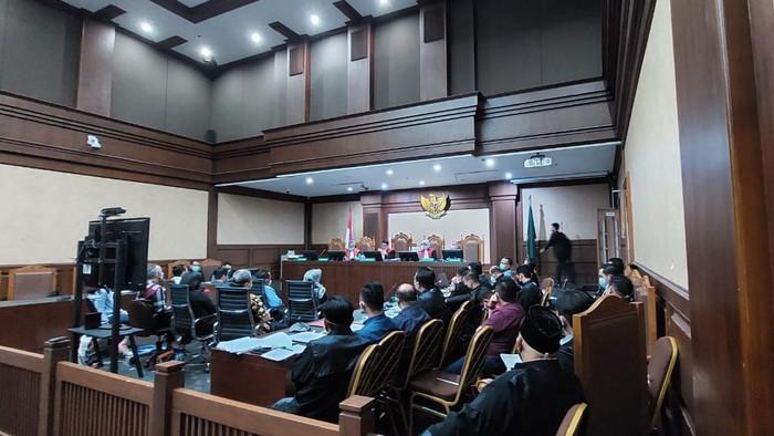 Sidang kasus suap Edhy Prabowo, Selasa (11/5)-(Zunita/detikcom)