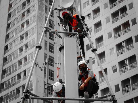 Operatror seluler Tri Indonesia