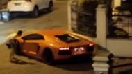 Heboh! Lamborghini Geber Knalpot di Kompleks Warga Medan