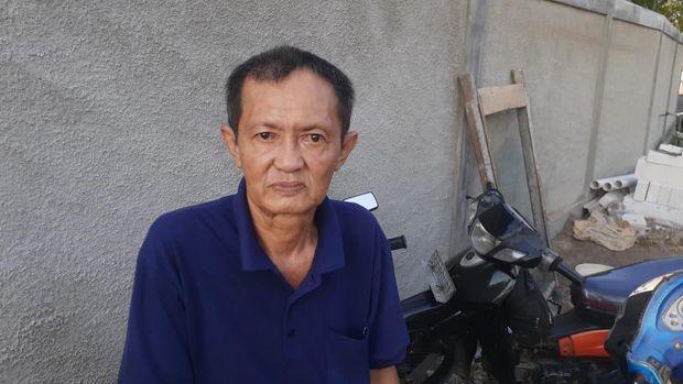 Warga sekitar Jl Tanjung Burung, Teluknaga, Tangerang, Baharudin