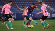 Ditahan Levante, Peluang Barcelona Raih Gelar LaLiga Menipis