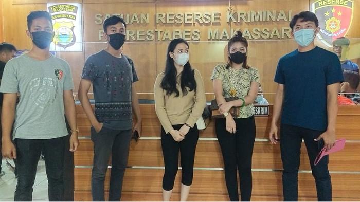2 selebgram di Makassar ditangkap lantaran keroyok seorang wanita