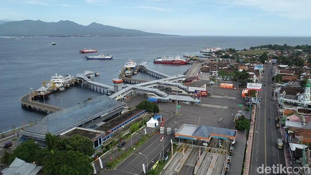 Giliran Pelabuhan ASDP Ketapang Banyuwangi yang Kini Sepi