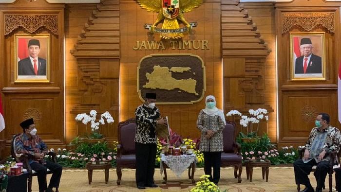 Gubernur Khofifah tunjuk Wabup Marhaen jadi Plt Bupati Nganjuk