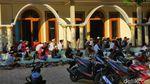 Jemaah Ponpes Mahfilud Duror Jember Salat Id Hari Ini