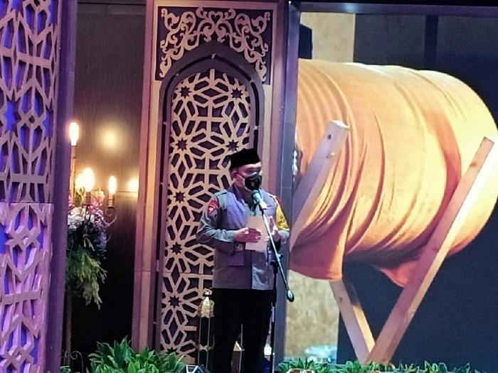 Kapolda Metro Jaya Irjen Fadil Imran menutup kegiatan festival Ramadhan online, Selasa (11/5/2021).