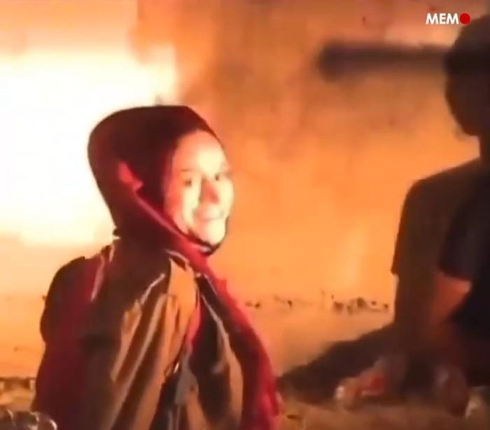 Mariam Afifi (Foto: tangkapan layar video yang viral)