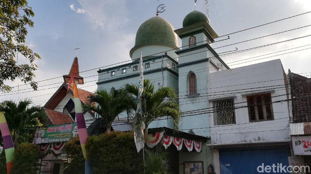 Lebaran-Kenaikan Isa Bareng, Masjid-Gereja di Solo bikin Kesepakatan