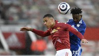 MU Vs Leicester Sama Kuat 1-1 di Babak Pertama