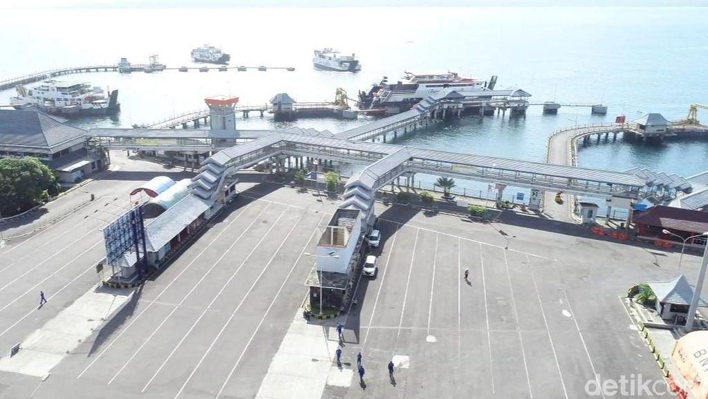 Penyekatan Efektif, Pelabuhan Ketapang Banyuwangi Begitu Lengang