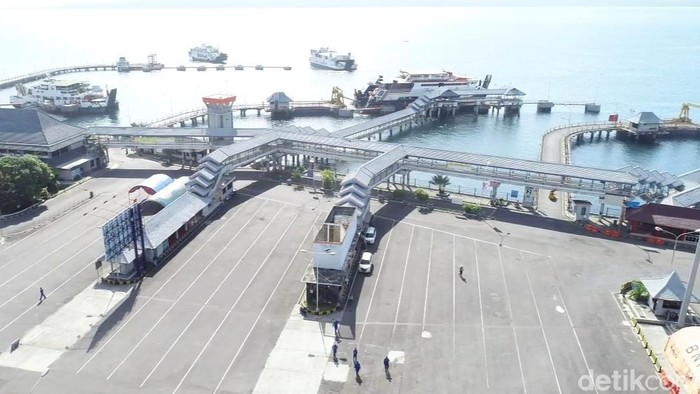 pelabuhan ketapang sepi