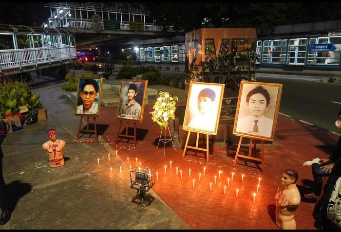 Peringatan 23 Tahun Tragedi Trisakti. (Dok Kepresma Trisakti)