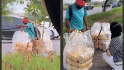 Salut! Perjuangan Penjual Kerupuk Jualan Lintas Provinsi dengan Jalan Kaki