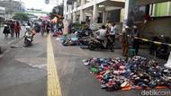 Curhat PKL Pasar Tanah Abang Gelar Lapak di Trotoar Sepi Pembeli