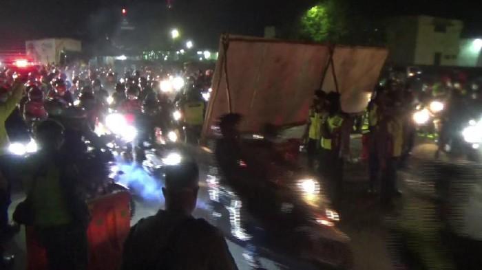 Pos penyekatan pemudik di Gamon Subang dibuka