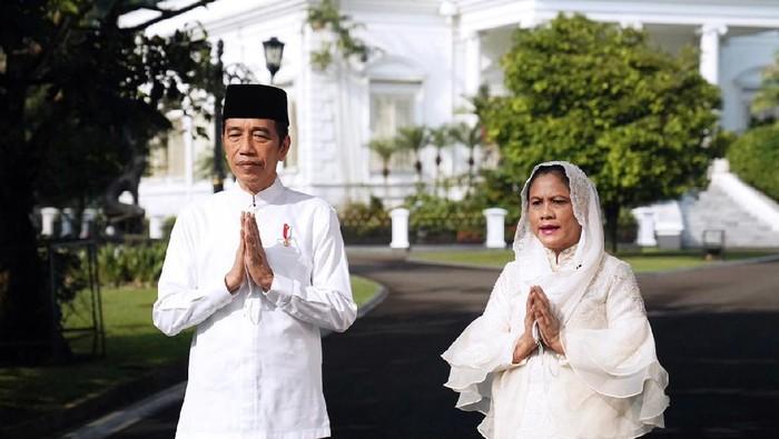 Presiden Jokowi dan Ibu Negara Iriana (Foto: Lukas - Biro Pers Sekretariat Presiden)
