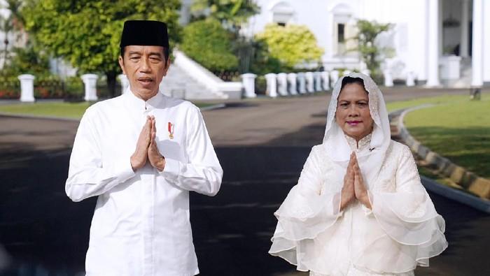 Presiden Jokowi dan Ibu Negara Iriana