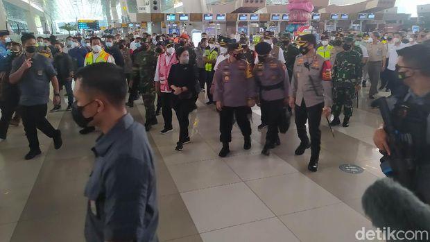 Puan Maharani di Bandara Soetta