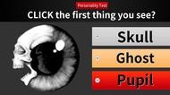 Tes Kepribadian: Gambar Bola Mata atau Tengkorak yang Pertama Kamu Lihat?