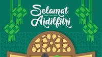 15 Gambar Ucapan Selamat Hari Raya Idul Fitri 1442 H