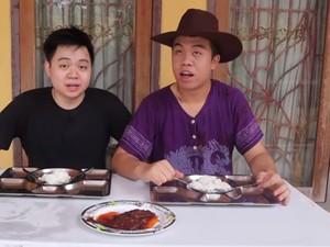 Unik! YouTuber Ini Buat Konten 24 Jam Santap Makanan Penjara