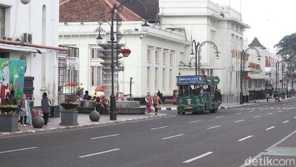 Naik Bandung Tour On Bus (Bandros) ini bisa jadi pilihan tepat untuk wisatawan yang berakhir pekan di Bandung. (Wisma Putra/detikTravel)