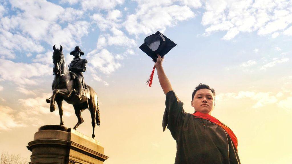 Ini Sosok Fitrah Teng, Putra Ternate yang Pidato di Northeastern University