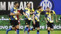 Inter Milan Vs AS Roma: Nerazzurri Sikat I Lupi 3-1