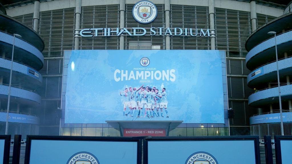 Perayaan Man City Juara Liga Inggris: Makan Pizza!