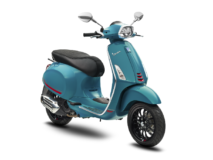 Pilihan warna baru Vespa Sprint 2021