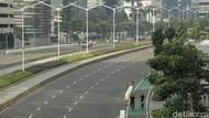 Jalanan Jakarta Lengang di Hari Kedua Lebaran