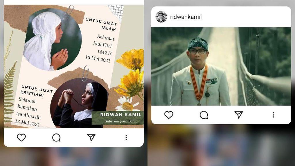 2 Hari Besar Dirayakan Bersamaan, Ridwan Kamil: Tahun Istimewa