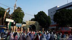 Masjid Agung Sunda Kelapa Jakarta Gelar Salat Id, Begini Suasananya